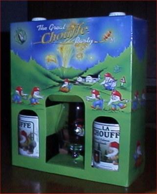 La Chouffe in geschenkverpakking!