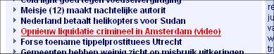 Opnieuw liquidatie crimineel in Amsterdam (video)