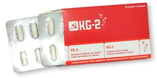 een pakje KG-2