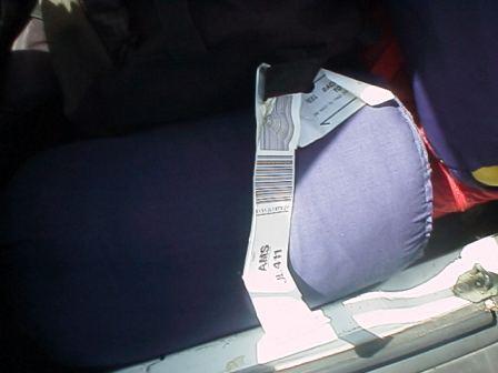 bagagelabels erafhalen brengt ongeluk