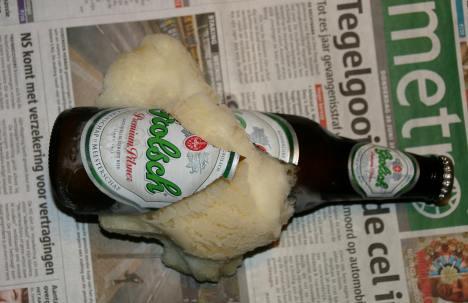 Een wel heel koel biertje