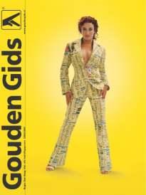 Katja op de cover van de Gouden Gids