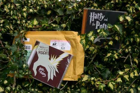 raad eens wat de postbode vandaag kwam brengen...