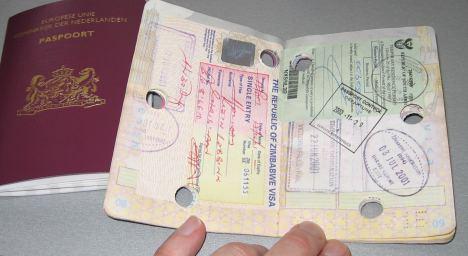 Doorboord visum