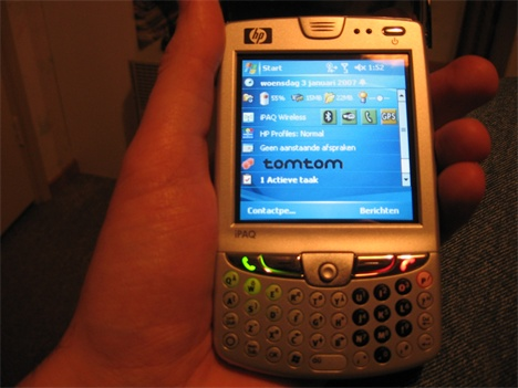 HP iPAQ HW 9615